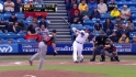 Duda's long home run