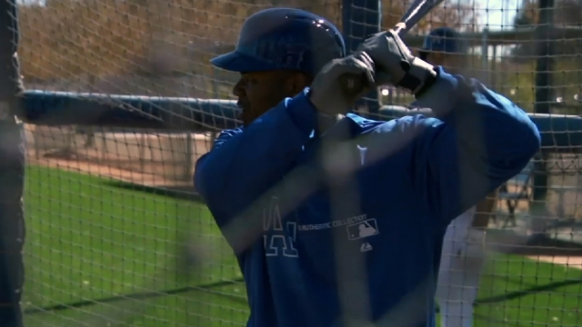 Crawford's spring debut comes as designated hitter