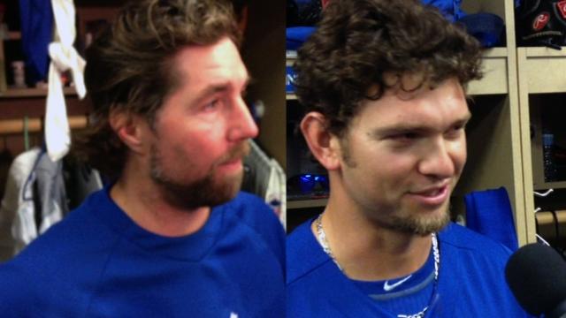 Dickey preps for distance in Minors outing