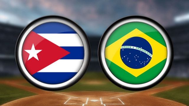 Cuban ace Jimenez quiets feisty Brazil squad