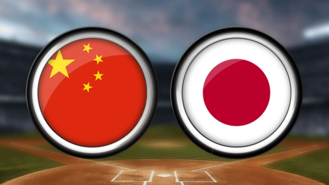 Japan's pitching keeps China in check