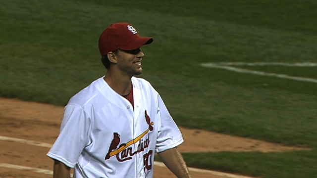 Wainwright yields five runs against Nats