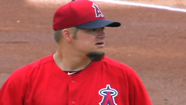 Blanton sharp in Cactus League debut with Angels