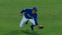 Hyunsoo Kim's great diving catch