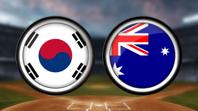Korea takes early lead, blanks Australia