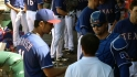 Darvish, Pierzynski working well