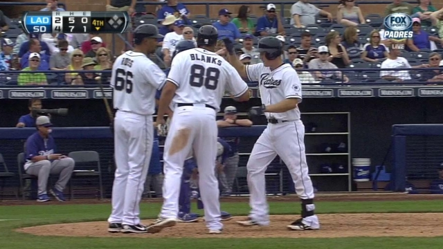 Hundley, Maybin, Guzman homer to power Padres