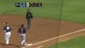 Upton's RBI groundout