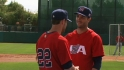 Braun, Lucroy on Team USA