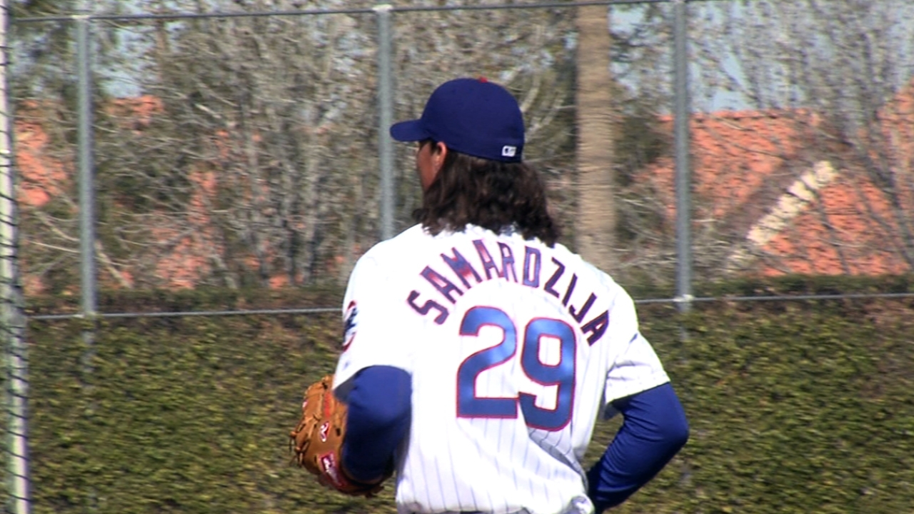 Feldman eager to get first Cubs start under his belt