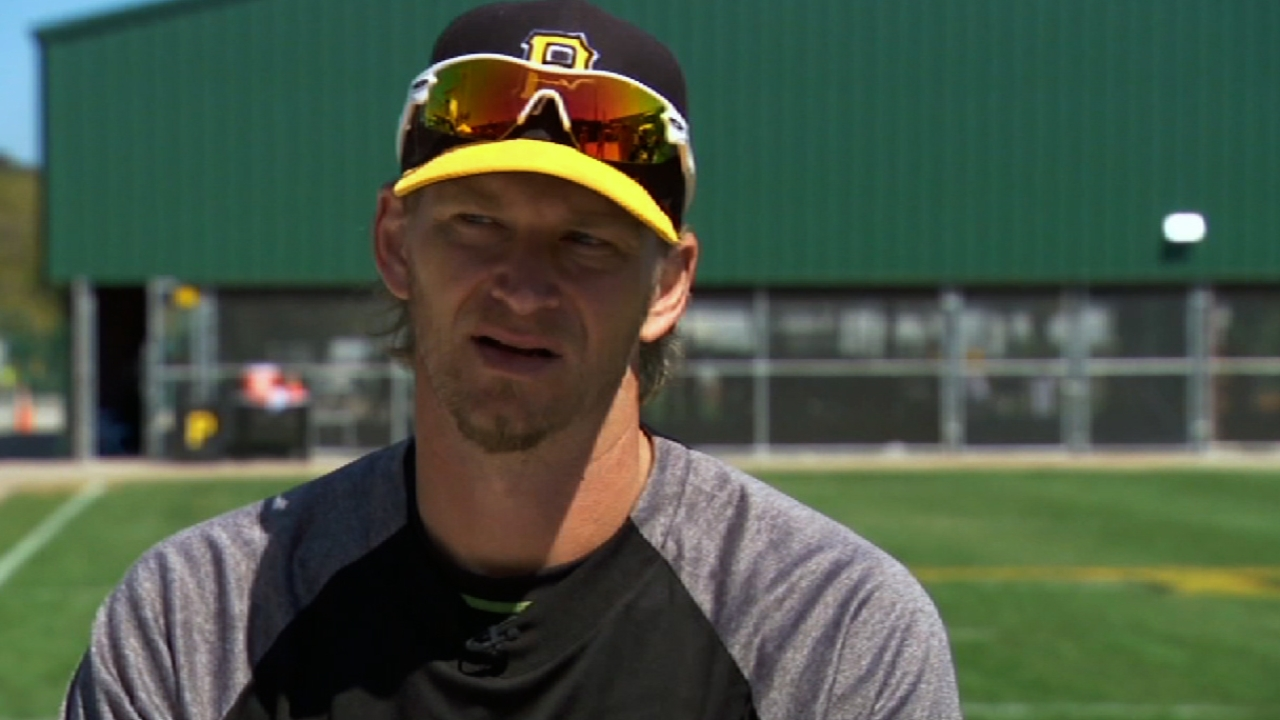 Burnett finally paired with Martin in spring start