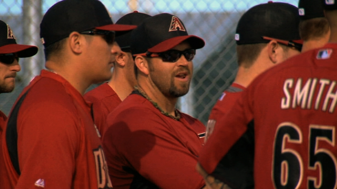 New D-backs reliever Reynolds acclimating well