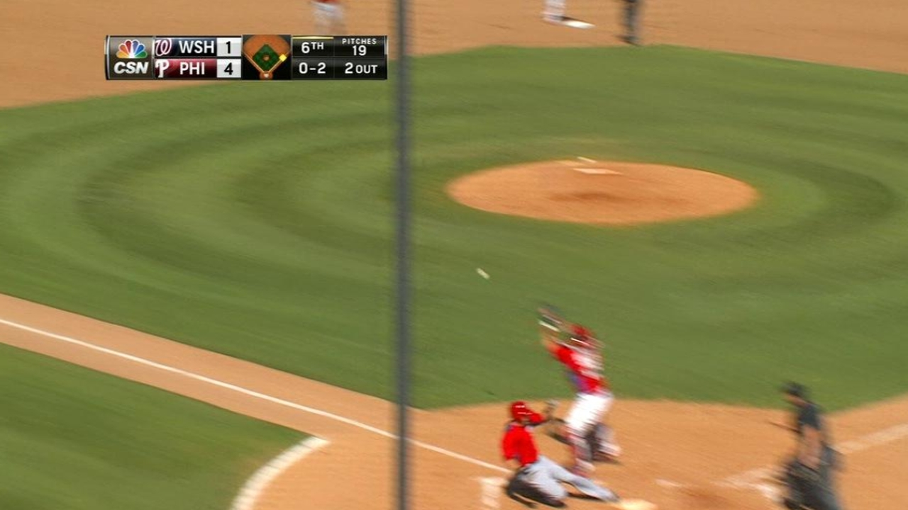 Owings' RBI double