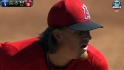 Weaver's five strikeouts