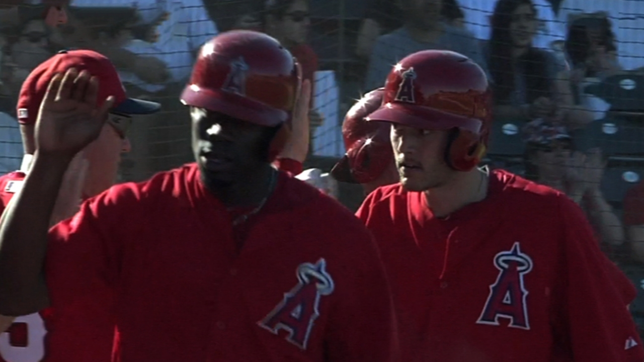 Prospects spark Angels' win over Team Italy