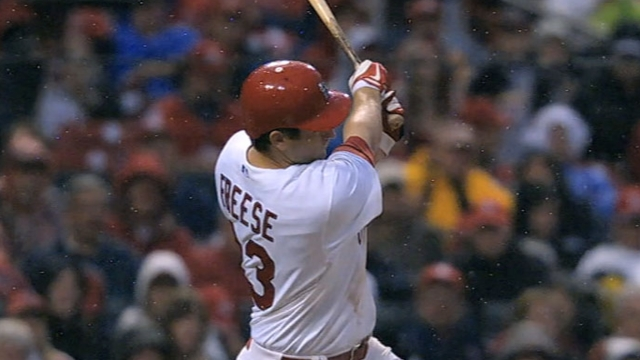 Freese avoids arbitration, agrees to one-year deal