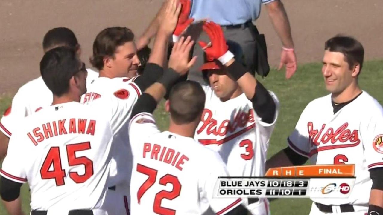 Hammel strikes out four, Flaherty hits winning homer