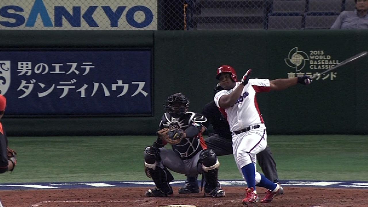 Despaigne's solo home run