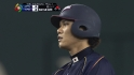 Sakamoto's single ties the game
