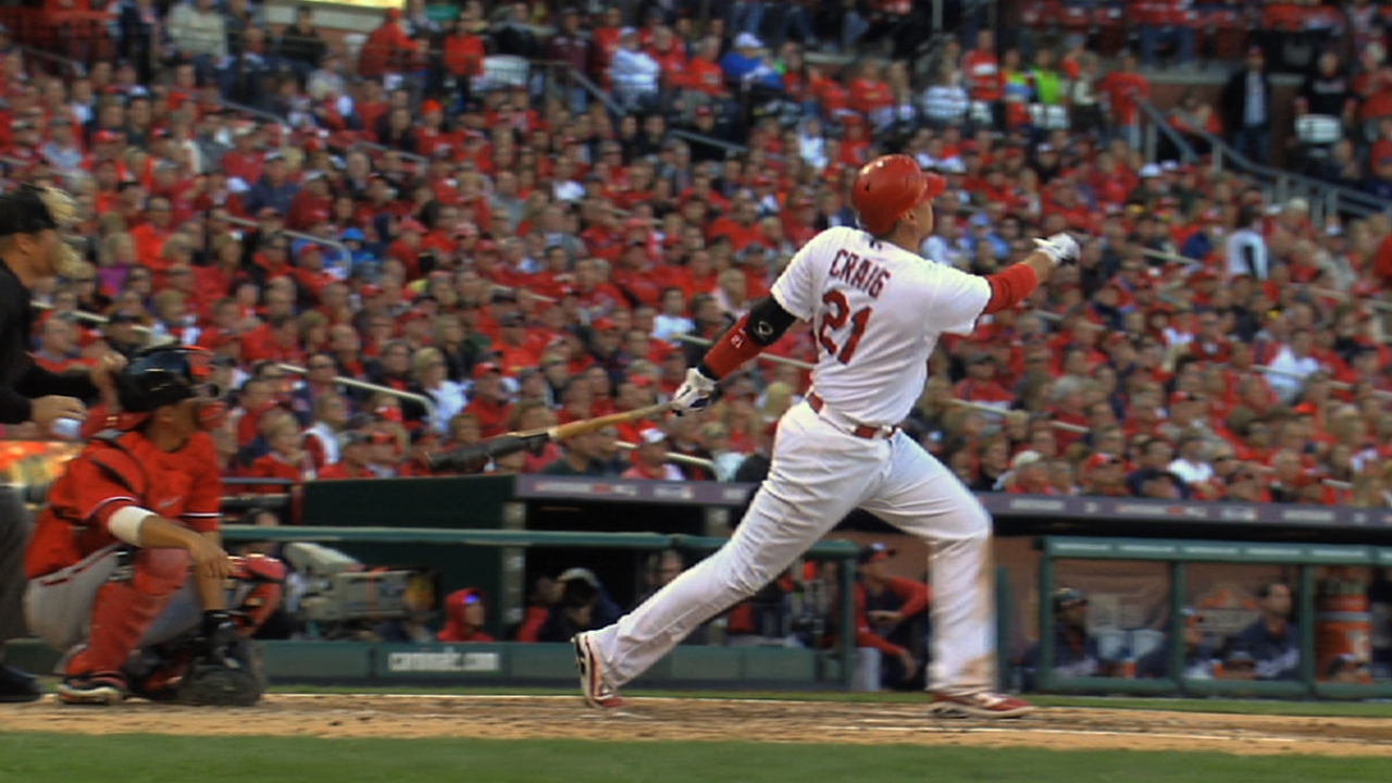 Craig 'humbled' by five-year contract with Cards