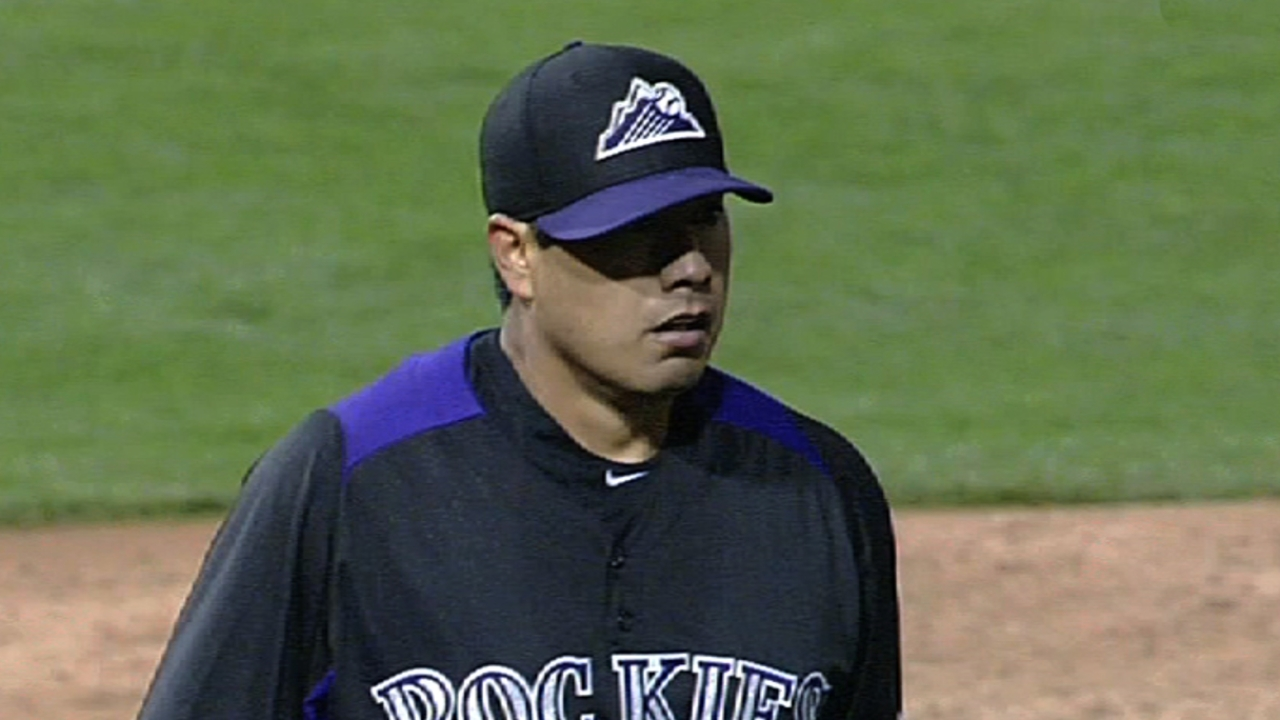 De La Rosa pleased with outing on rainy day