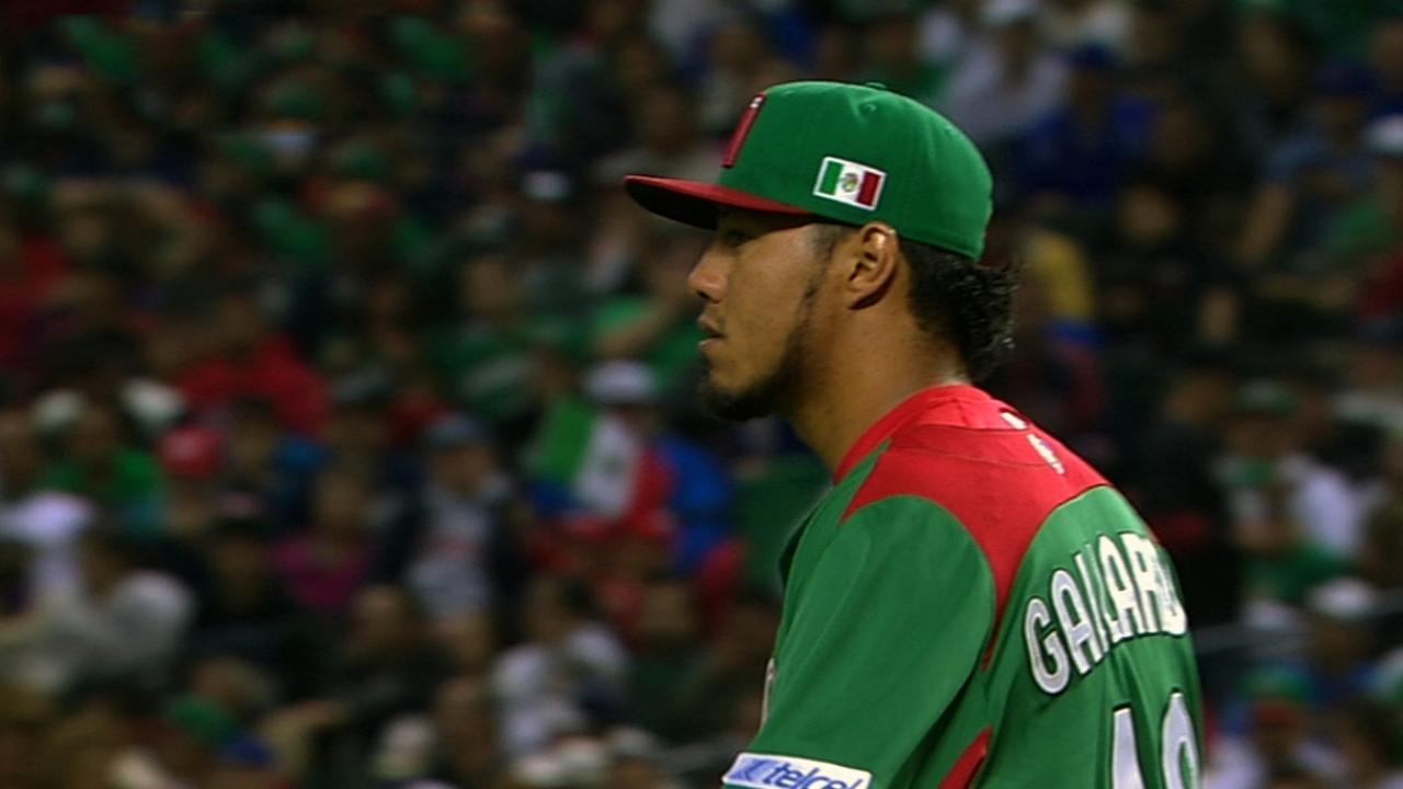 Gallardo's four strikeouts
