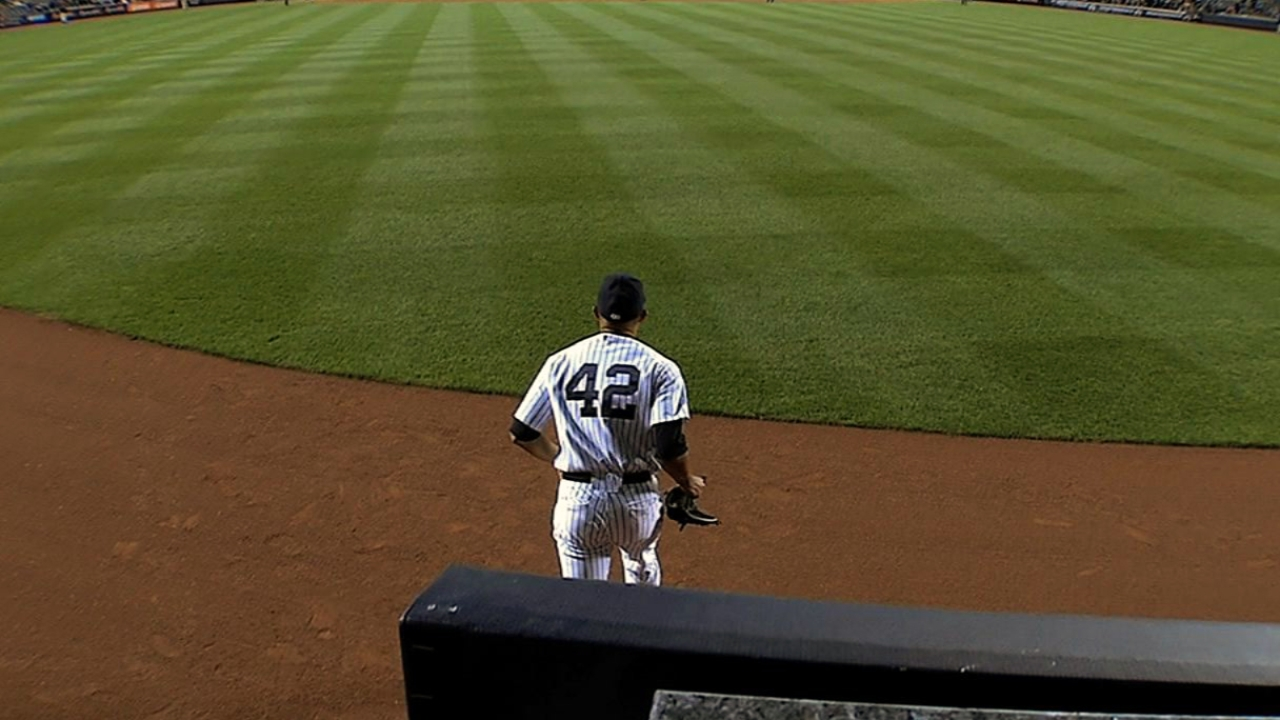 No. 42 gives Yanks glimpse of Jackie's strength
