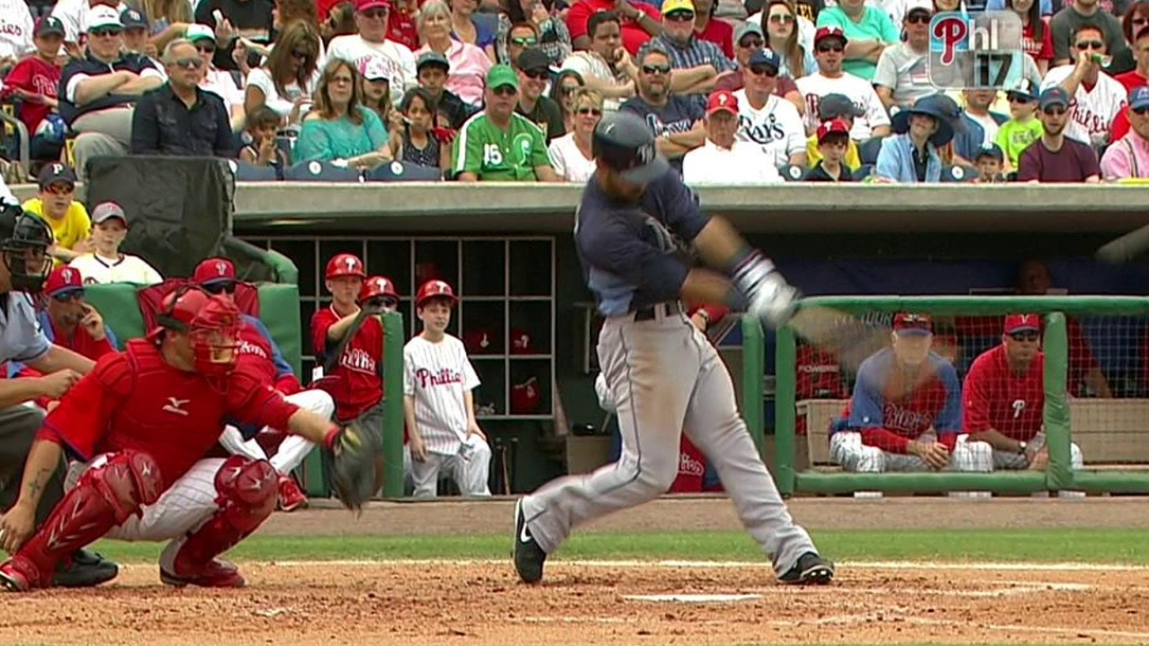 Rodriguez homer sparks big offensive day for Rays
