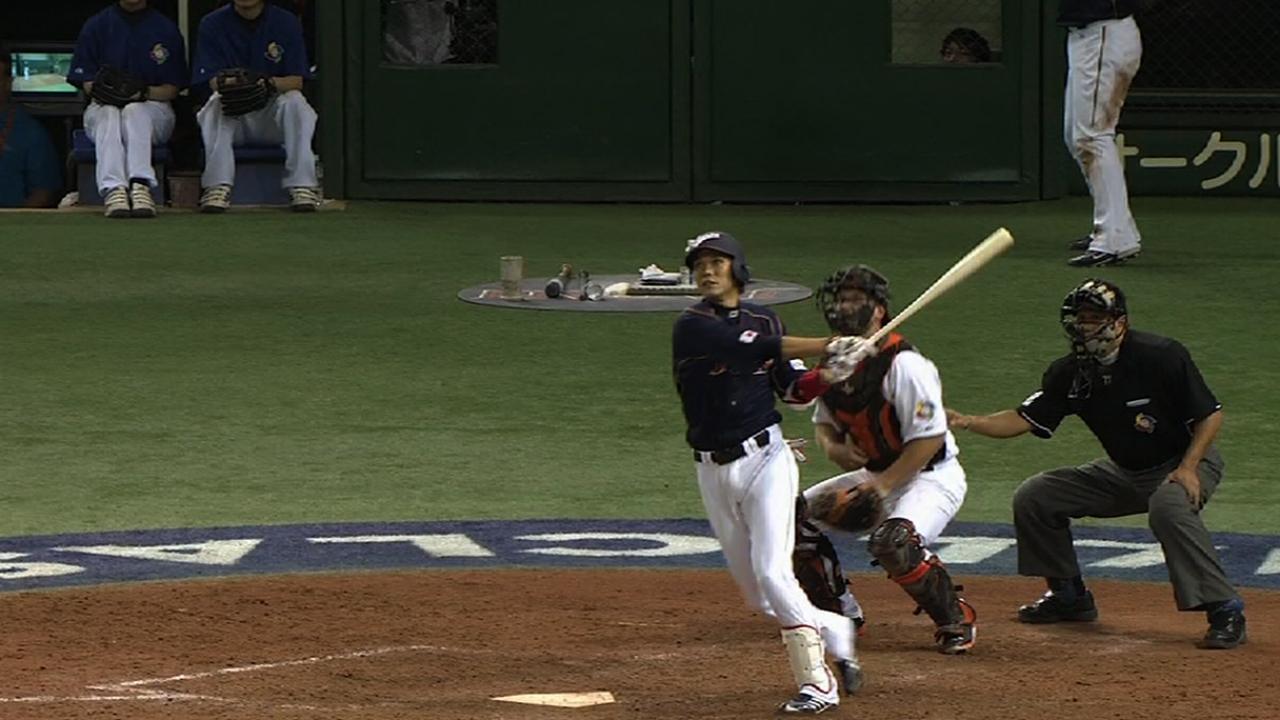 Sakamoto, Nakata pace Japan in loss to Cubs