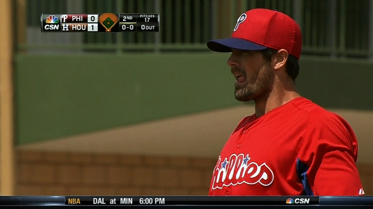 Phillies tab Hamels for first Opening Day start