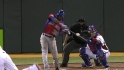 De Aza's RBI double