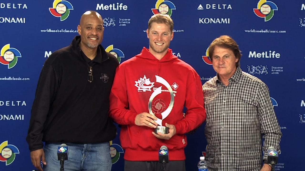 Saunders' presence felt with Pool D MVP honors
