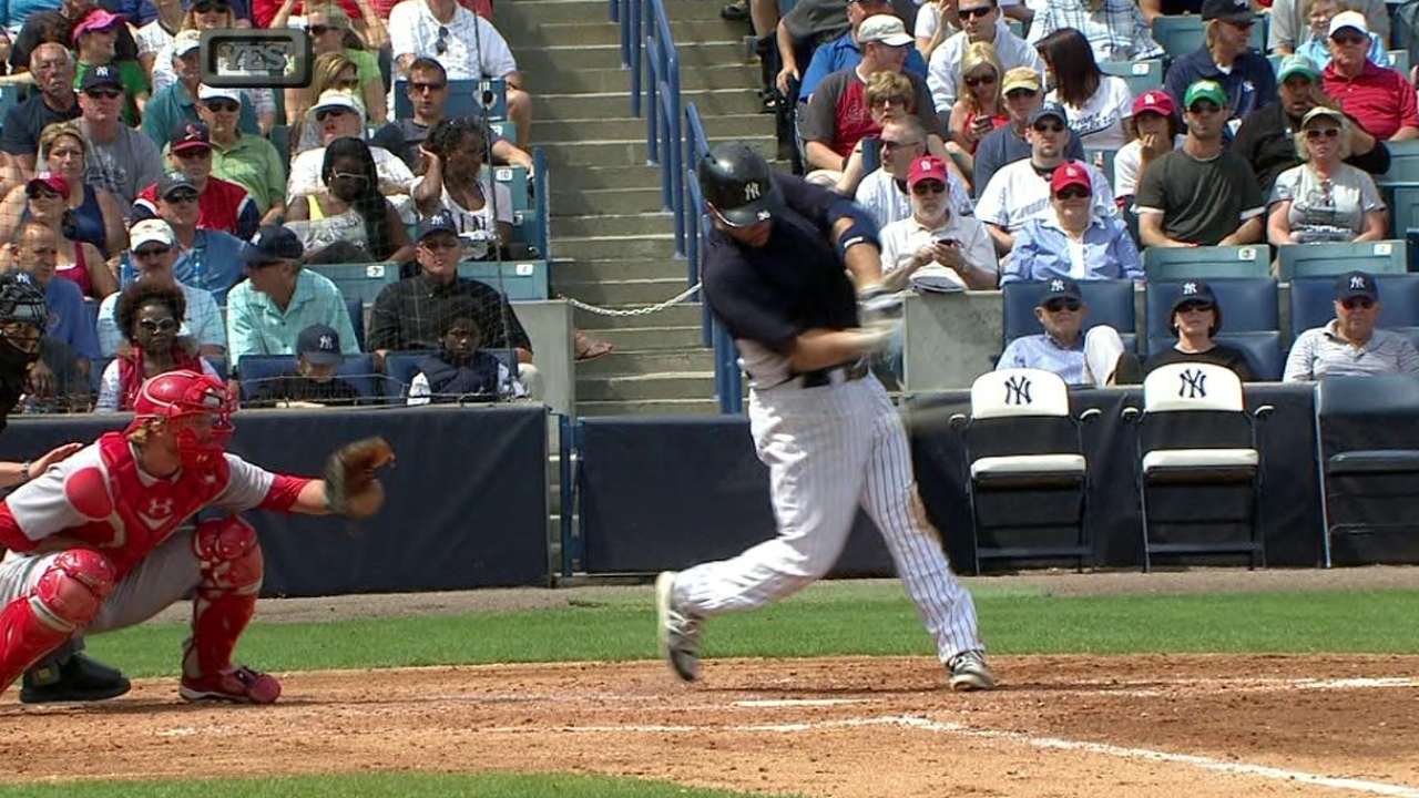 Youk homers, Kuroda fans six as Yanks top Cards