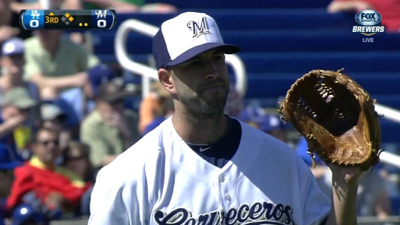 Brewers may opt to skip Fiers' next start