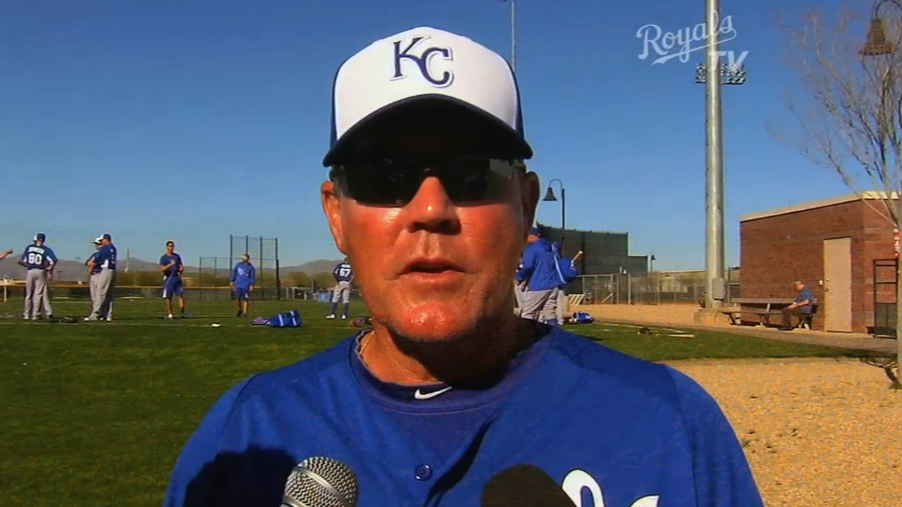 Yost pleased with strong KC pitching vs. Seattle