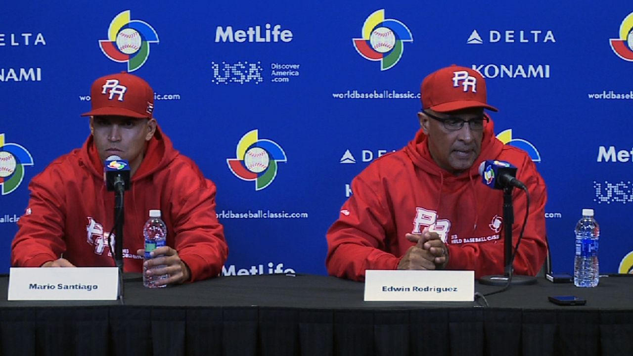 Inexperienced pitchers a challenge for Puerto Rico