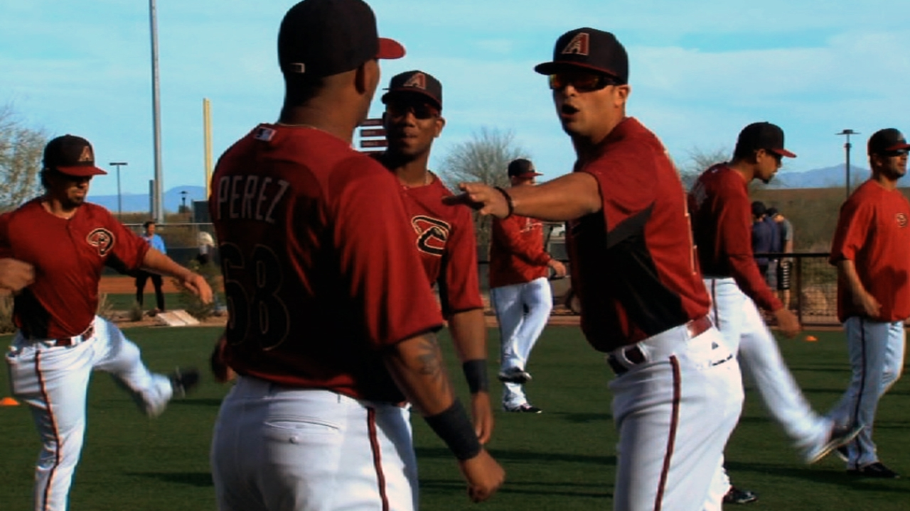 D-backs' projected Opening Day lineup