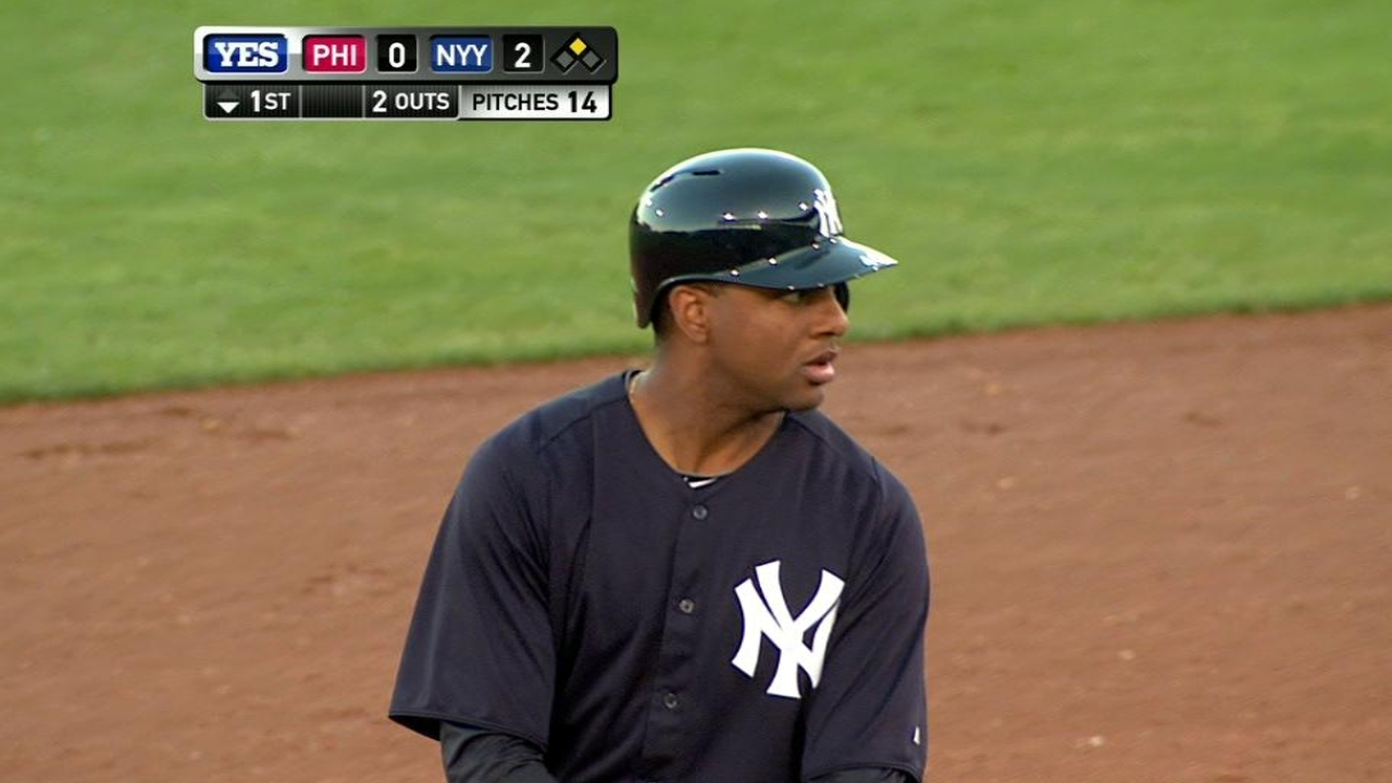 Francisco trying to earn a spot with Yankees
