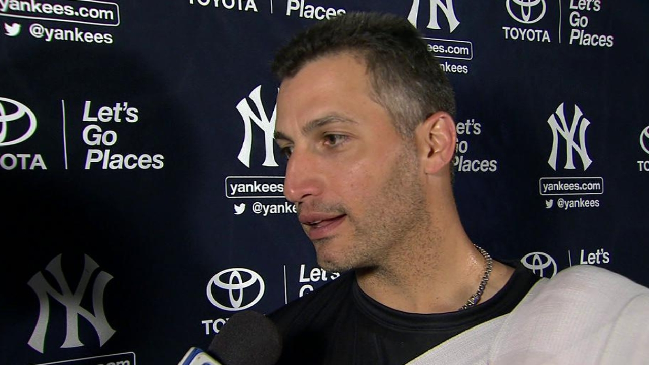 Pettitte calls debut 'something to work on'