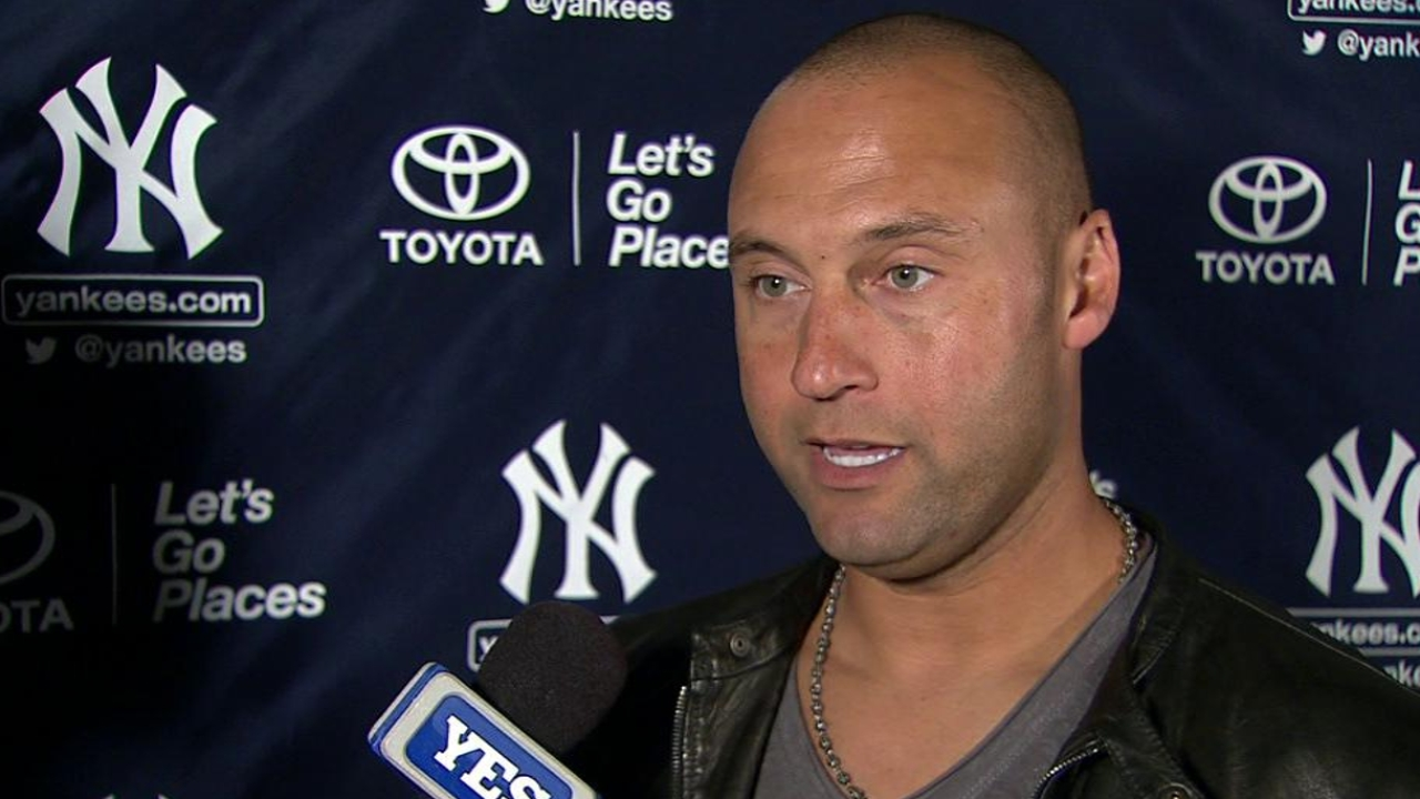 Jeter set to man shortstop in consecutive games