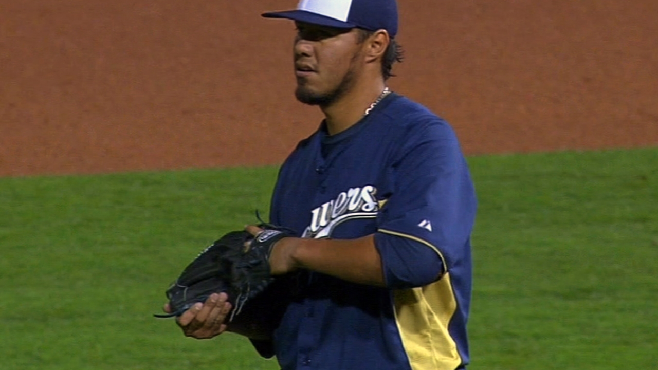 Brewers making their best pitch for '13 success