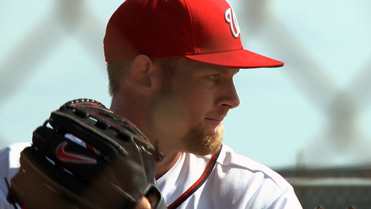 Strasburg named Nationals' Opening Day starter