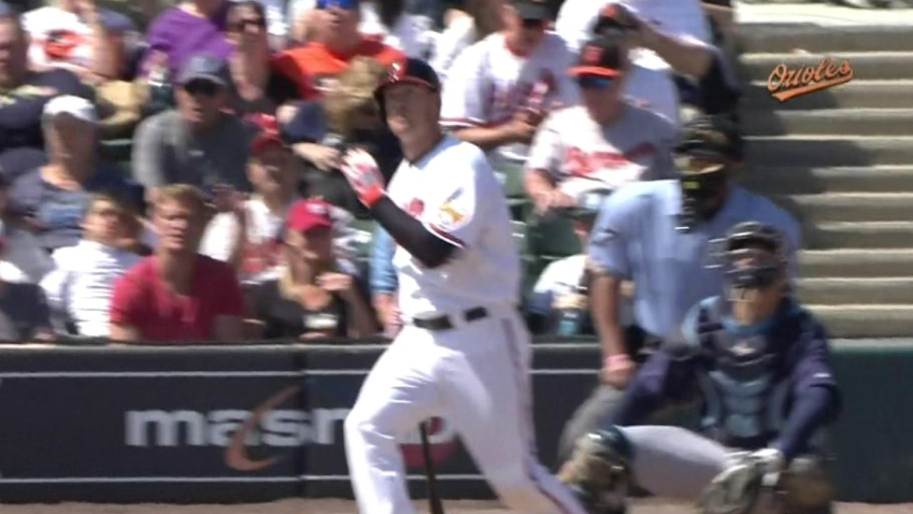Wieters hits second home run of Spring Training