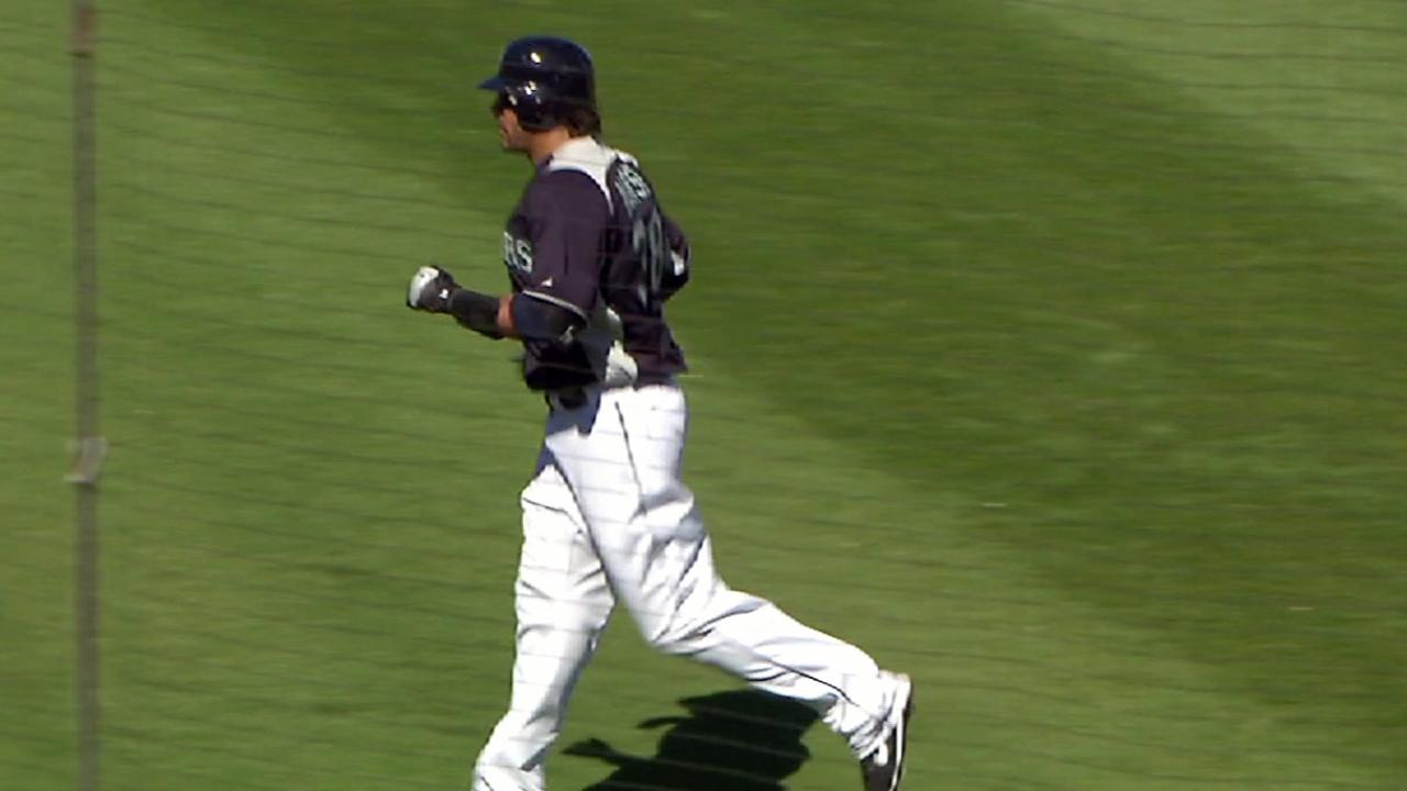 Beast Mode initiated: Morse slugs two homers
