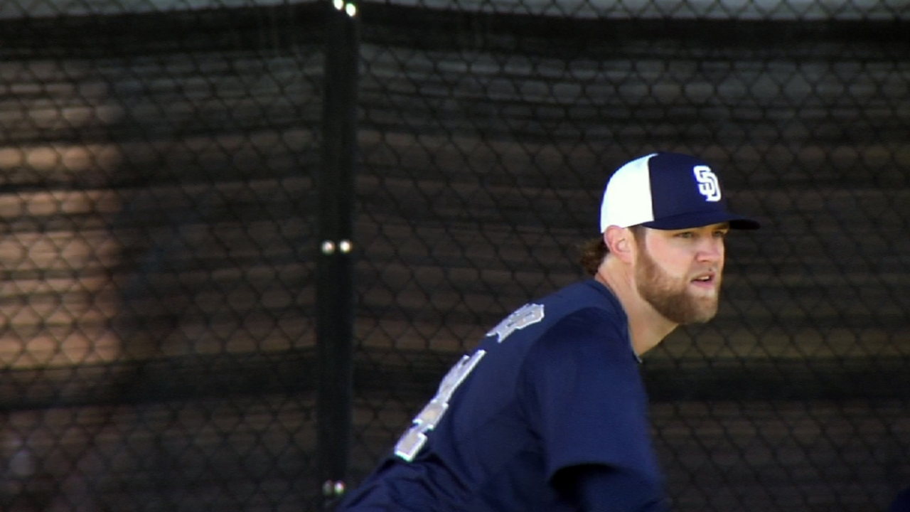 Cashner aids rotation case in Padres' loss