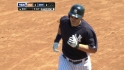 Hafner's two-run blast