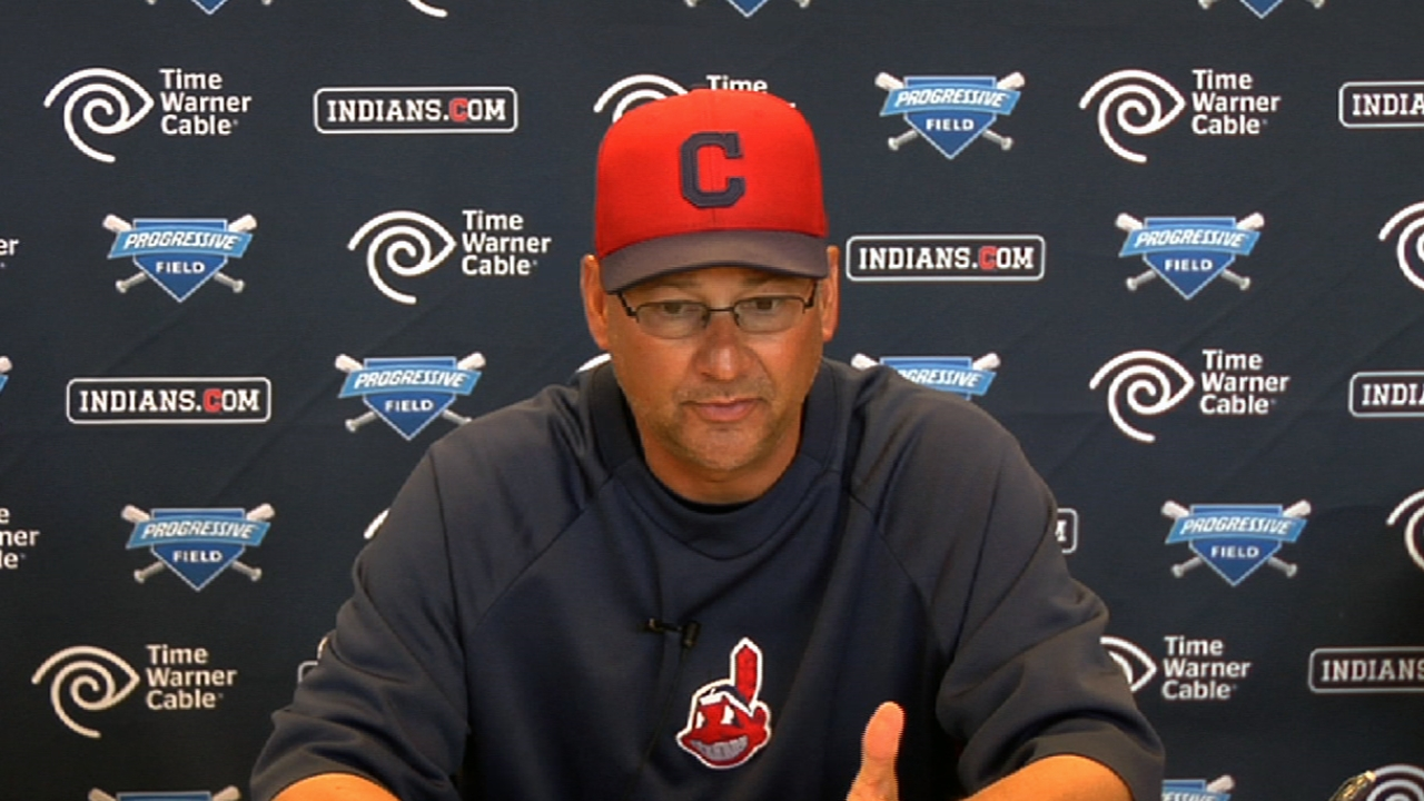 Indians awaiting Santana's return from Classic