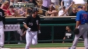 Danks' two-run homer