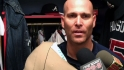 Hudson talks start vs. Mets