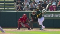 Cespedes' two-run shot